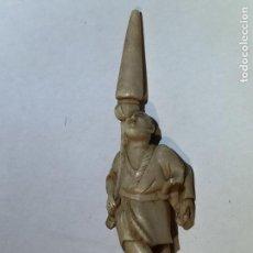 Antigüedades: FIGURA ORIENTAL DE MARFIL. Lote 74607787