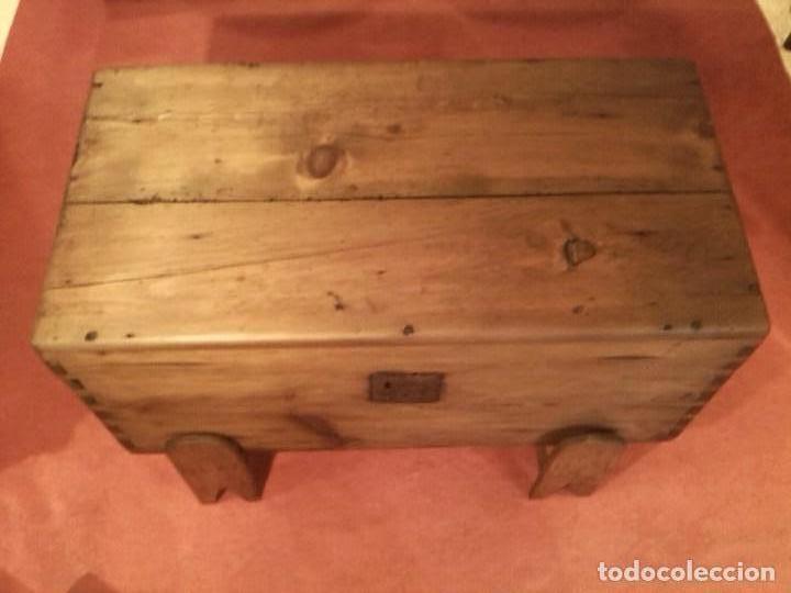 ARCA DE PINO (Antigüedades - Muebles Antiguos - Baúles Antiguos)