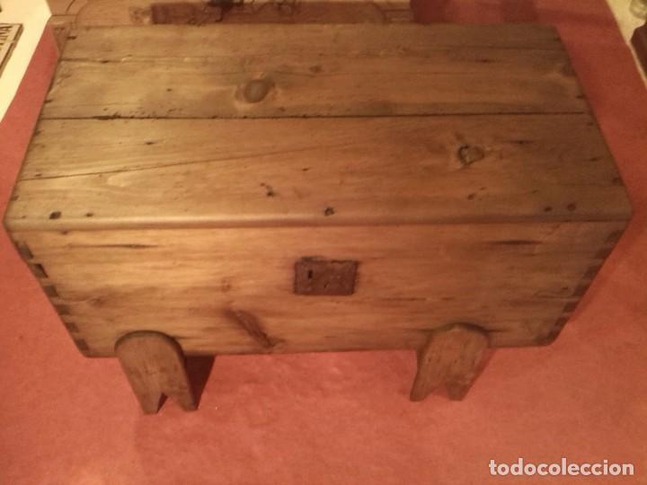 Antigüedades: ARCA DE PINO - Foto 2 - 80514425