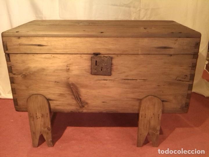 Antigüedades: ARCA DE PINO - Foto 3 - 80514425