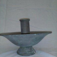 Antigüedades: CANDELABRO DE BRONCE.. Lote 80516861