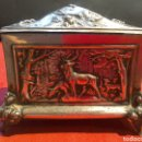 Antigüedades: PEQUEÑA ARQUETA DE FINALES SXIX. Lote 80527103