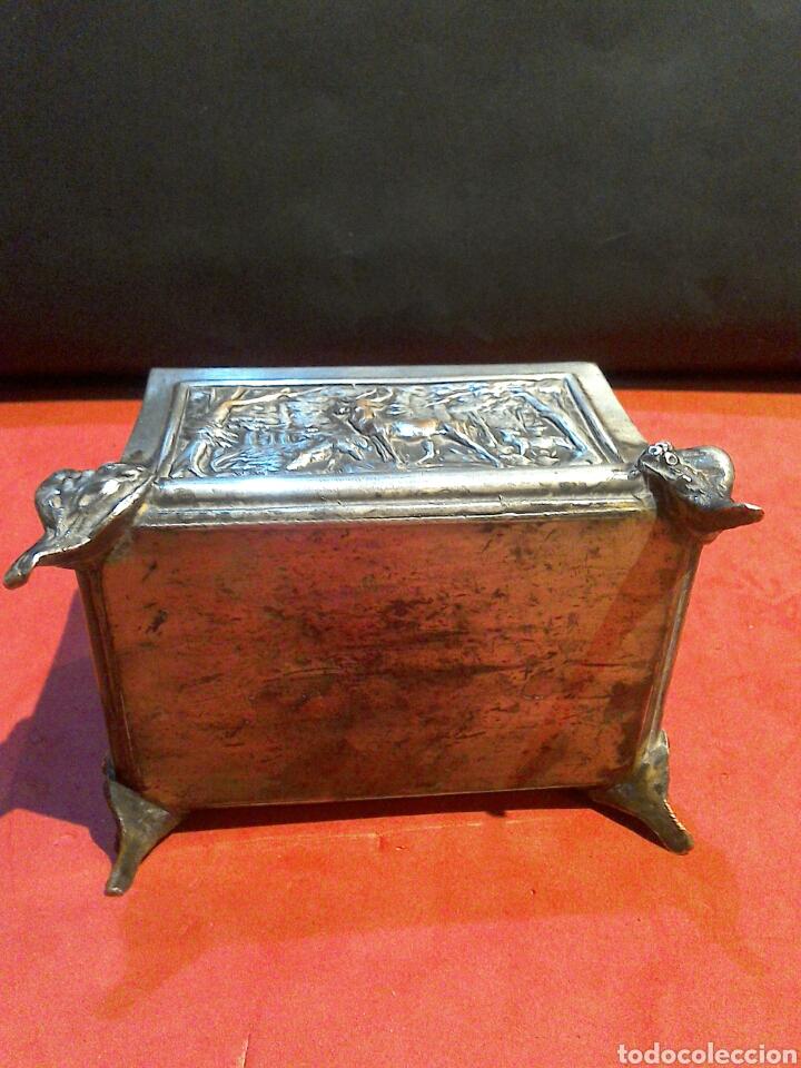 Antigüedades: Pequeña arqueta de finales sXIX - Foto 5 - 80527103