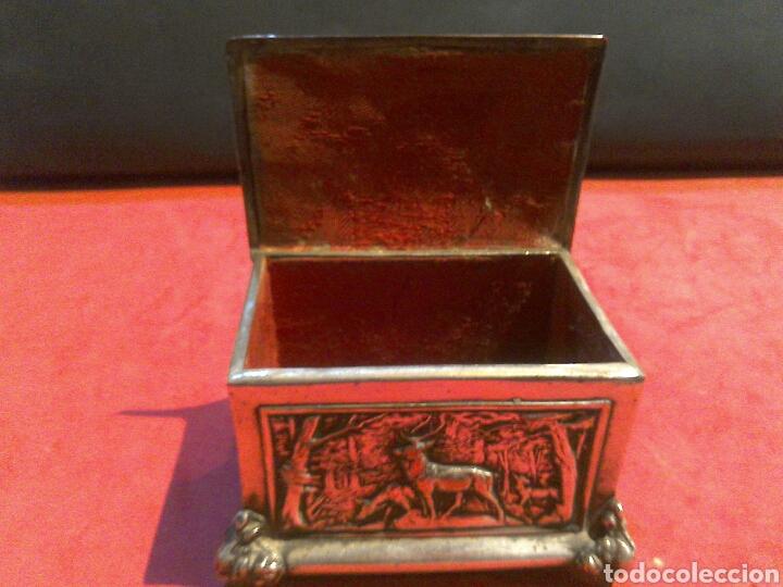 Antigüedades: Pequeña arqueta de finales sXIX - Foto 6 - 80527103