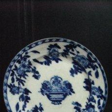 Antigüedades: ANTIGUO PLATO DE SAN JUAN SEVILLA SELLO. Lote 80580222