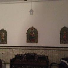 Antigüedades: BANCO ANTIGUO DE MADERA. Lote 80670898