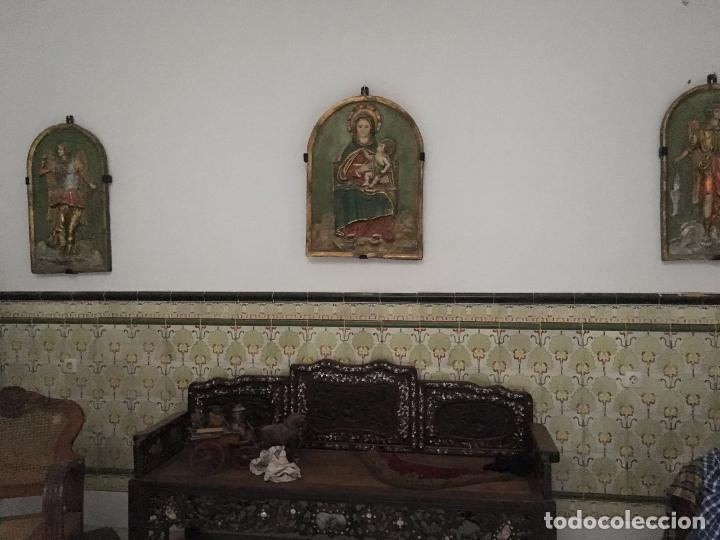Antigüedades: Banco Antiguo de Madera - Foto 2 - 80670898