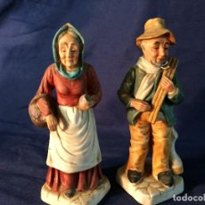 Antigüedades: PAREJA DE FIGURAS. Lote 80705118