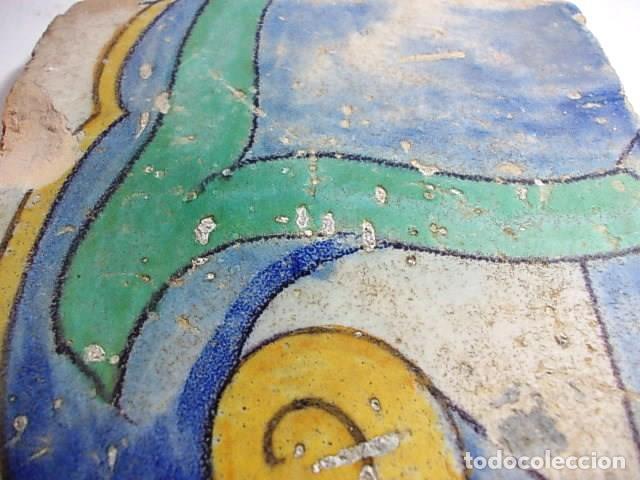 Antigüedades: ANTIGUO AZULEJO DEL XVII VALENCIANO - Foto 3 - 80712790