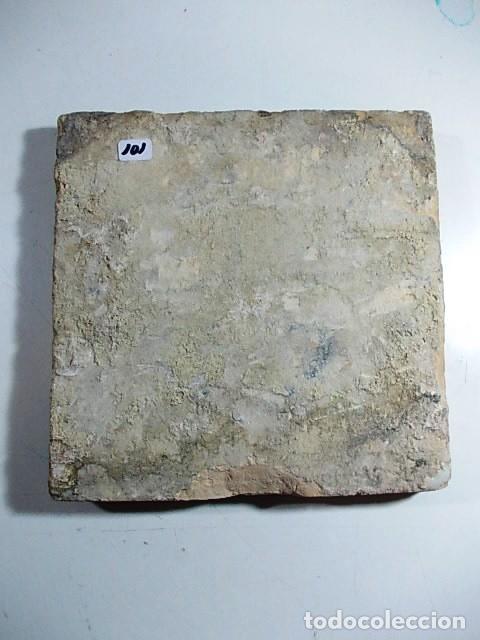 Antigüedades: ANTIGUO AZULEJO DEL XVII VALENCIANO - Foto 4 - 80712790