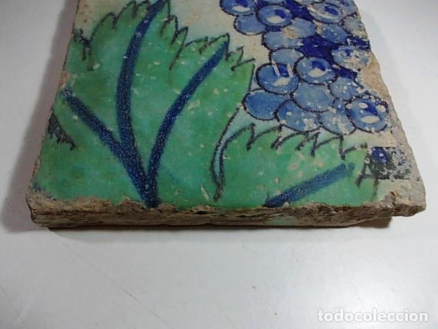 Antigüedades: ANTIGUO AZULEJO DEL XVII VALENCIANO - Foto 3 - 80714110