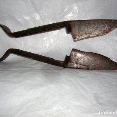 Antigüedades: ANTIGUAS TIJERAS, MARCADAS CON IMPRONTA DE UN CABALLO,. Lote 80715662