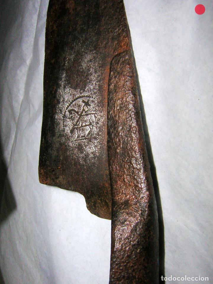 Antigüedades: ANTIGUAS TIJERAS, MARCADAS CON IMPRONTA DE UN CABALLO, - Foto 2 - 80715662
