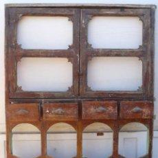 Antigüedades: ANTIGUO ARMARIO DE COCINA ARAGONES. Lote 80738162