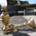 Antigüedades: IMPRESIONANTE LAMPARA NAUTICA QUINQUE de barco SISTEMA CARDAN FINALES DEL XVIII PIEZA DE MUSEO .. Lote 80742966
