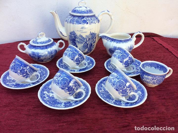 JUEGO ANTIGUO DE CAFE SELLADO VILLEROY&BOCH (Antigüedades - Porcelana y Cerámica - Alemana - Meissen)