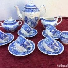 Antigüedades: JUEGO ANTIGUO DE CAFE SELLADO VILLEROY&BOCH. Lote 80757850