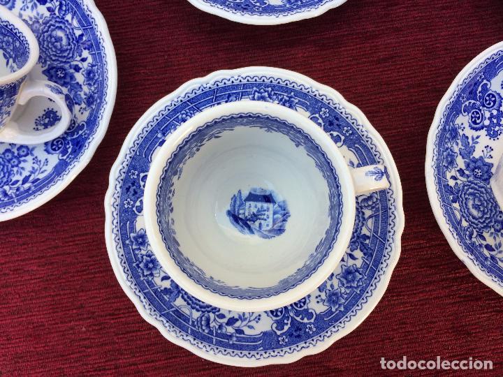 Antigüedades: JUEGO ANTIGUO DE CAFE SELLADO VILLEROY&BOCH - Foto 4 - 80757850