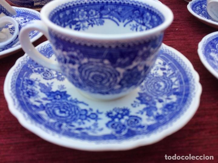 Antigüedades: JUEGO ANTIGUO DE CAFE SELLADO VILLEROY&BOCH - Foto 6 - 80757850