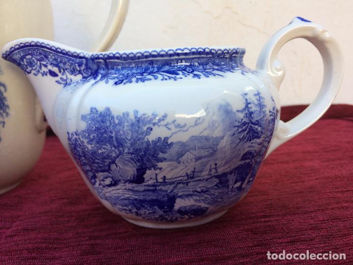 Antigüedades: JUEGO ANTIGUO DE CAFE SELLADO VILLEROY&BOCH - Foto 10 - 80757850
