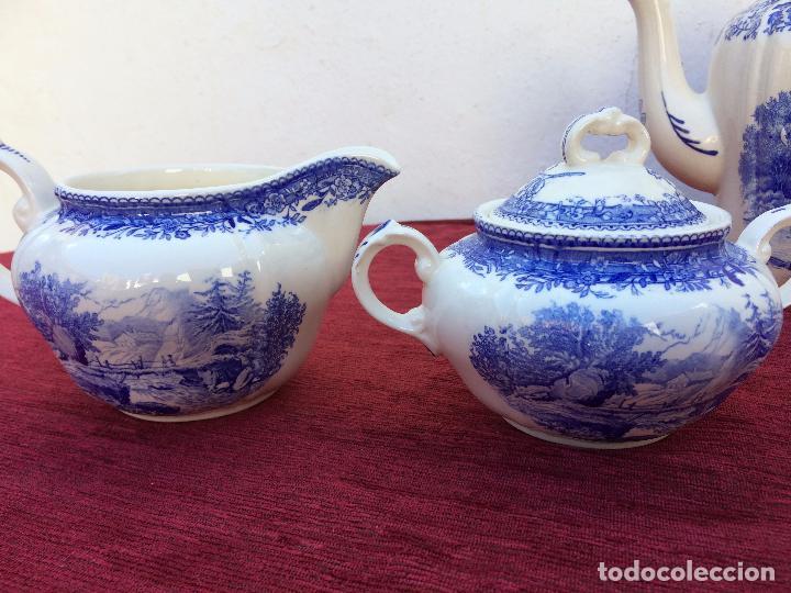 Antigüedades: JUEGO ANTIGUO DE CAFE SELLADO VILLEROY&BOCH - Foto 11 - 80757850