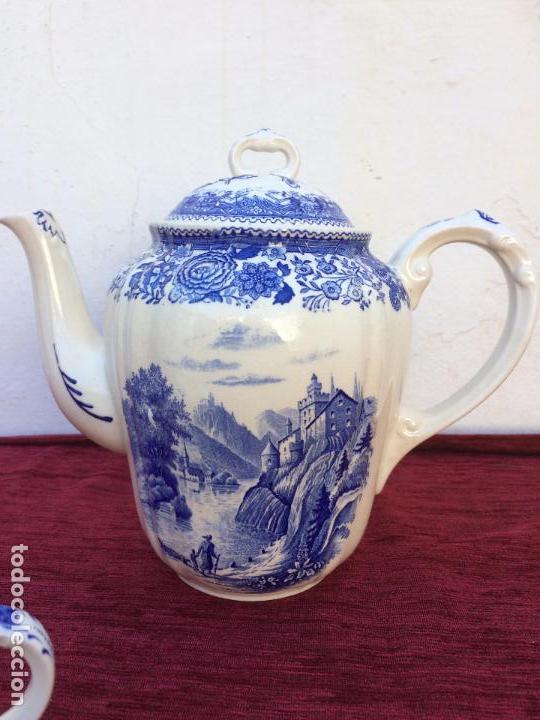 Antigüedades: JUEGO ANTIGUO DE CAFE SELLADO VILLEROY&BOCH - Foto 12 - 80757850