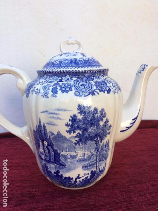 Antigüedades: JUEGO ANTIGUO DE CAFE SELLADO VILLEROY&BOCH - Foto 13 - 80757850