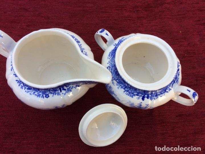 Antigüedades: JUEGO ANTIGUO DE CAFE SELLADO VILLEROY&BOCH - Foto 14 - 80757850