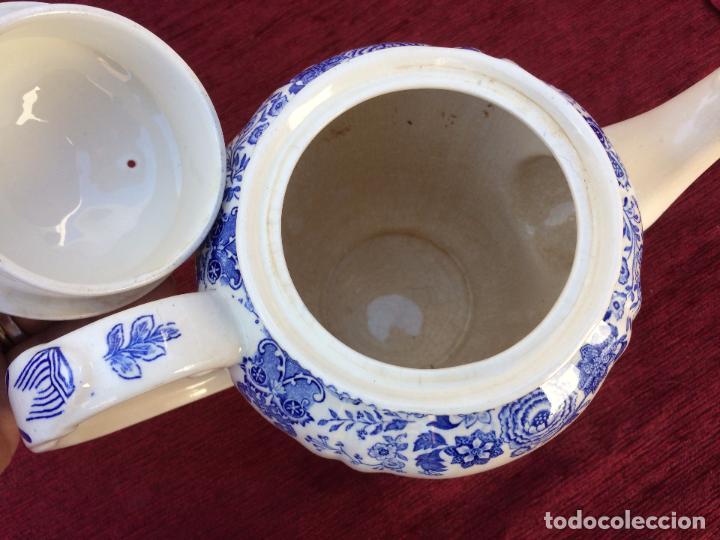 Antigüedades: JUEGO ANTIGUO DE CAFE SELLADO VILLEROY&BOCH - Foto 17 - 80757850