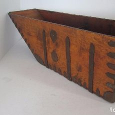 Antigüedades: MEDIA FANEGA , FANEGA , OCHAVA , MEDIDA DE GRANO. Lote 80762366
