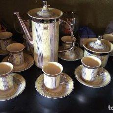 Antigüedades: JUEGO DE CAFÈ ANTIGUO. Lote 80769338