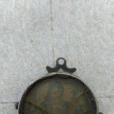 Antigüedades: ANTIGUO RELICARIO DE PLATA SIGLO XVII O XVIII. Lote 80775671