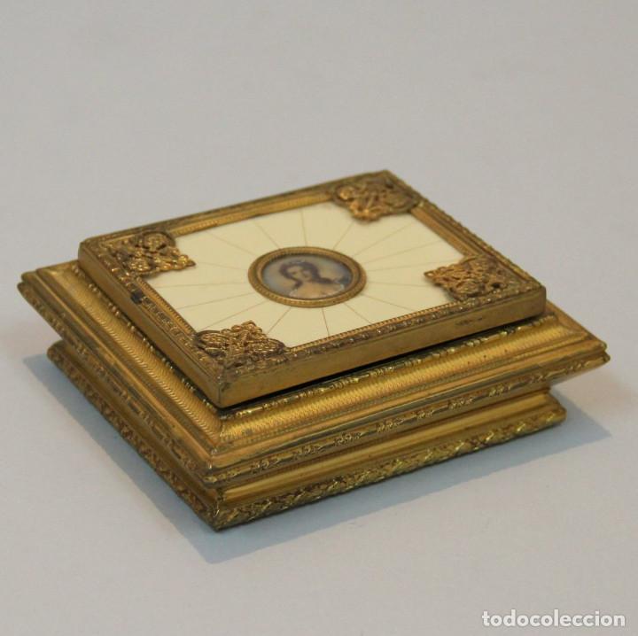 Antigüedades: Caja joyero de la primera mitad del siglo XX. - Foto 2 - 80780510