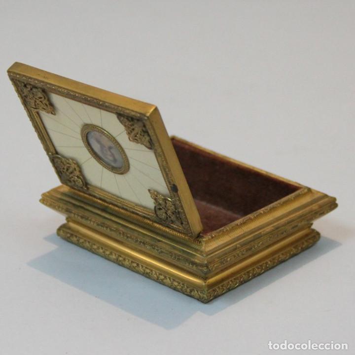 Antigüedades: Caja joyero de la primera mitad del siglo XX. - Foto 4 - 80780510