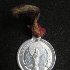 Antigüedades: ANTIGUA MEDALLA RELIGIOSA NUESTRA SEÑORA DEL PILAR. . Lote 80807351