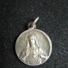 Antigüedades: ANTIGUA MEDALLA RELIGIOSA VIRGO CARMELI. . Lote 80807487