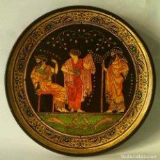 Antigüedades: PLATO GRIEGO DE DECORACION. Lote 80827443