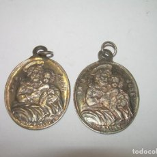 Antigüedades: DOS ANTIGUAS MEDALLAS...SAN JOSE.. Lote 80830691