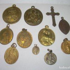 Antigüedades: ANTIGUAS MEDALLAS..TOTAL..11 UNIDADES.. Lote 80832087