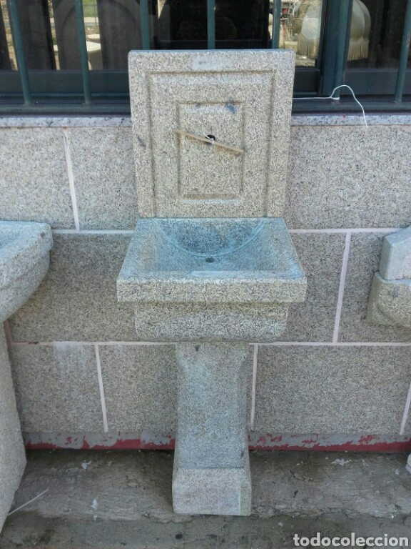 Fuente de pared de piedra granito comprar antig edades - Fuentes de pared de piedra ...
