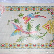 Antigüedades: EL CONSULTOR DE LOS BORDADOS LUJO, LAMINA Nº 507. Lote 80859959