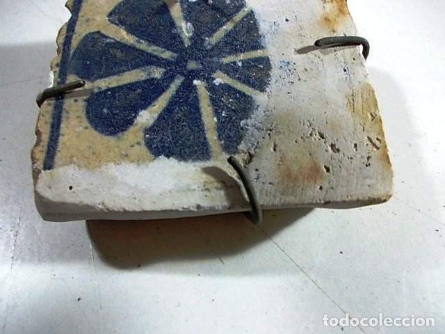 ANTIGUO AZULEJO VALENCIANO (Antigüedades - Porcelanas y Cerámicas - Azulejos)
