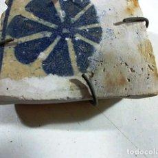 Antigüedades: ANTIGUO AZULEJO VALENCIANO . Lote 80860575