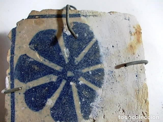 Antigüedades: ANTIGUO AZULEJO VALENCIANO - Foto 3 - 80860575