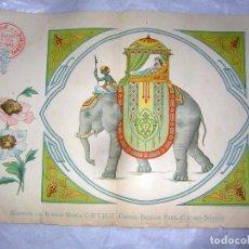 Antigüedades: EL CONSULTOR DE LOS BORDADOS LUJO, LAMINA Nº 553. Lote 80862315
