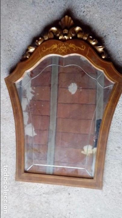 ESPEJO CORNUCOPIA (Antigüedades - Muebles Antiguos - Cornucopias Antiguas)
