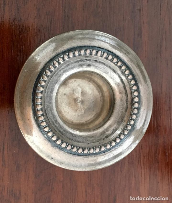 Antigüedades: Pareja de candelabros de plata - Foto 7 - 80902859