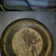 Antigüedades: PLATO LATON EGIPICIA LABRADO. Lote 80908340