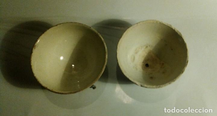 Antigüedades: DOS ANTIGUOS CUENCOS - Foto 2 - 80937280