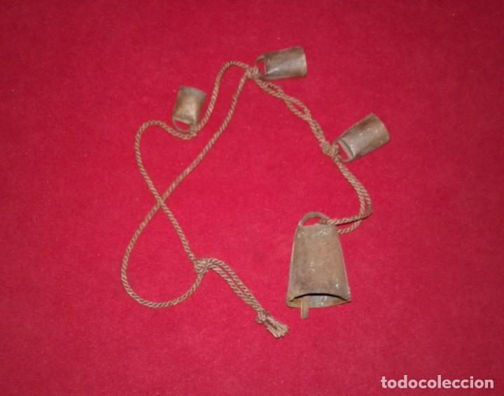 CUERDA DE CENCERROS (Antigüedades - Técnicas - Rústicas - Ganadería)